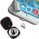 Relámpago magnético que encarga el cable del cargador del USB del adaptador