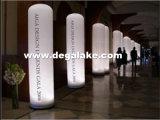 LED che illumina colonna gonfiabile per il partito/festival/evento/che fa pubblicità