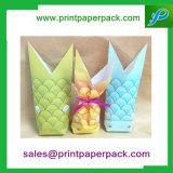 La sucrerie personnalisée de sac de papier d'emballage met en sac les sacs doux