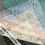 Tessuto di lavoro a maglia del merletto del merletto del fiore per il vestito