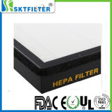 H13 Compond PP와 애완 동물 Filtr 서류상 HEPA 필터