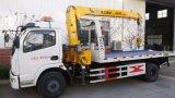 Chariot de démolition à 6 roues monté avec grue à vendre