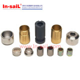 Fabricante fazendo à máquina do CNC para componentes mecânicos gerais