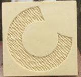 حجر رمليّ تمثال [رليفو] جدار قراميد لأنّ زخرفة بيتيّة