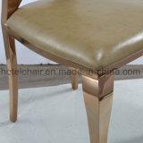 Metal do aço inoxidável do preço do estilo de India bom que janta cadeiras com restaurante