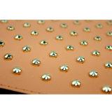 Spätester Fonds und Mappen mit Bling Bling Entwürfen auf Oberfläche für Ansammlungen der Frauen Luxus