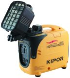 ライトが付いているKiporガソリンインバーターデジタル1kVA発電機Ig1000s