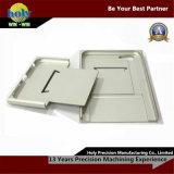 iPhone Shell CNC Geanodiseerde CNC van de Delen van het Aluminium Zilver Delen