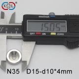 De permanente Sterke Magneet van het Neodymium met Uitstekende Kwaliteit