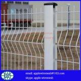 Сваренная сетка 50X200mm загородки с столбом и зажимом