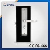 304 bloqueo de puerta Keyless electrónico del programa de lectura de la tarjeta inteligente RFID del acceso del acero inoxidable del hotel impermeable del sistema