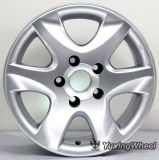 Rueda auto de aluminio de la aleación de 15 pulgadas con el OEM y el ODM