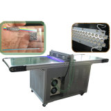 TM-LED600床-取付けられた自動フィルムLED紫外線治癒機械