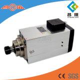 Abgekühlter Hochgeschwindigkeitsasynchroner Spindel-dreiphasigmotor der Fertigung-12kw quadratische Luft für hölzernen schnitzenden CNC-Fräser