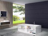2017 nuevo estilo de bañera superficial sólida modificada para con el Gabinete (PB1043)