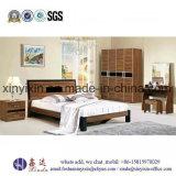 Kundenspezifische hölzerne Hotel-Schlafzimmer-Möbel des Bett-4-Star (SH-004#)