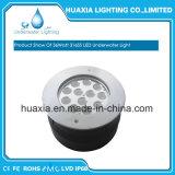 IP67 / IP68 Luz subterránea del LED / luz inground