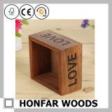 Personnaliser le logo Boîte à fleurs en bois pour la décoration intérieure