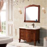 Шкаф тщеты ванной комнаты европейской водоустойчивой золы деревянный (GSP14-004)