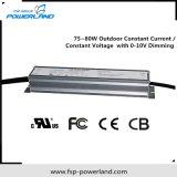 excitador atual constante ao ar livre do diodo emissor de luz de 75~80W 20~114V Dimmable