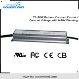 programa piloto actual constante al aire libre de 75~80W 20~114V Dimmable LED