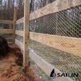 Sailin a galvanisé le fil de poulet pour le réseau d'animal familier avec l'OIN