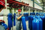 fabricante de alta pressão do profissional de China dos cilindros de gás do aço 40L sem emenda