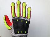 Перчатки Cut5 Stock Hppe с шить TPR