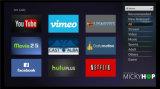 Cadre 2017 intelligent d'Ipremium Migo 4k IPTV TV avec le rôdeur et le système d'administration de serveurs de Mickyhop