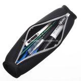 سوداء لون نيوبرين قلم [بنسل كس] حامل كيس حقيبة