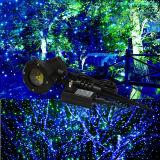 Blue & Green Moving Firefly jardín láser paisaje césped luz láser Bliss Firefly luz proyector