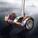 Rueda eléctrica de la bici 2 de la batería de litio que balancea la vespa eléctrica de la movilidad