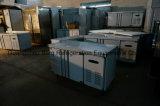 Refrigerador ereto comercial da porta do sólido do aço inoxidável quatro com Ce
