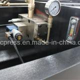 Материал QC12y-8X3200 обрабатывал автомат для резки 8mm 3200mm гидровлический