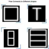 illuminazione lineare libera del collegamento 5000lm Dimmable di 0.15FT/0.2FT/0.3FT /0.4FT/0.5FT con ETL/Dlc