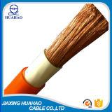 高品質16mm2 25mm2 35mm2 50mm2のオレンジ溶接ケーブル