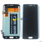 Панели экрана цифрователя касания индикации LCD вполне с заменой рамки для края G9250 галактики S6 Samsung