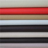 Couro artificial do PVC do plutônio do Synthetic da alta qualidade para o couro do plutônio de Upholstery do sofá da mobília