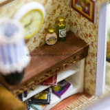 子供で最もよいギフトのためのミニチュア場面人形の家