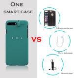 3.5mmのイヤホーンジャックが付いている多彩でスマートな保護携帯電話の箱およびプラスiPhone 7のiPhone 7のための電光料金インターフェイス