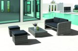 Outdoor Patio Furniture Rattan Garden Jersay Sofa Set (J556)