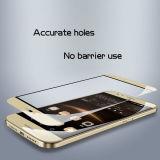 Hoher Definition-Bildschirm-Ganzseitenschoner-ausgeglichene Glasschicht für Huawei Kopf 4