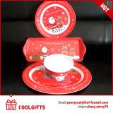 Новая тарелка меламина рождества с печатью шаржа