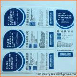 Autoadesivi impermeabili delle etichette adesive di stampa di alta qualità