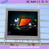 Pantalla de visualización fija a todo color al aire libre de LED P20 para hacer publicidad