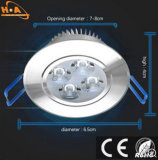 Alta calidad 5W Downlight IP33