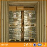 Acoplamiento de alambre soldado cubierto PVC para el material de construcción