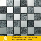 Mosaico do cristal de papel de parede com tratamento do metal
