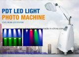 Equipo médico de la belleza LED PDT del Ce fotodinámico blanco de la terapia de la piel