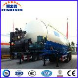 Aanhangwagen van de Vrachtwagen van de Lading van het Nut van het Poeder van het Cement van drie As de Droge Bulk